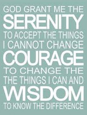 AA Serenity Prayer